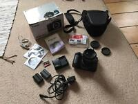 Canon EOS 40D digital camera and zoom lens