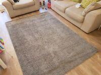 Grey ikea rug, good condition