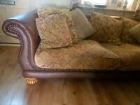 FREE Sofa 1 x 2 seater 1x3 seater. In good condition