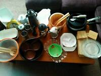 A set of kitchen stuff