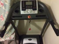 V-Fit Programmable Incline Powerful Motorized Treadmill - Hardly used RRP £650!
