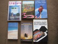 5 Easy Read Paperbacks and One Slightly Marked Hardback for £3.00