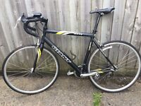 Excellent condition Giant OCR5 racing bike with brand new Continental GatorSkin tyres & CatEye light