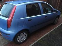 Fiat punto 1.2 petrol ..54 plate ,7 month mot