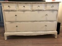 Shabby chic Stag chest of drawers