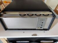 Vintage HMV Balfour Princess record player auto return speed 16,33,45,78