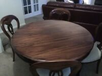 Barker and Stonehouse antique replica mahogany living and dining room set of furniture