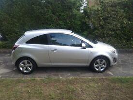 Vauxhall Corsa 1.2 SXI, 2011 - excellent condition!
