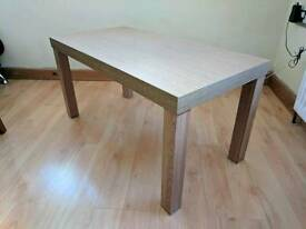 Furniture Village Hove furniture village lyon extending solid oak dining table and 6