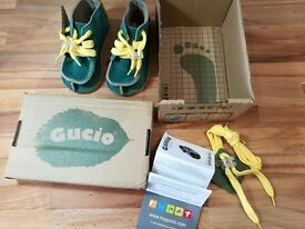 Gucio Children shoes – Blue – size 22 EU (5 UK) - NEW