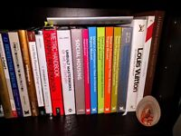 Architecture books - various titles - no longer needed as I have graduated - like new