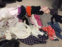 Girls clothes - age 4-6