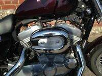 Harley Davidson Sportster - Very Low mileage