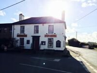 Village pub with 4 bed accomodation