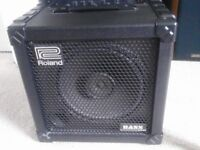 Roland Cube bass 30 Practice Amplifier/Combo