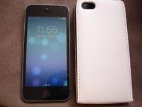 IPHONE 5s, SILVER , 16GB + CASE, EE, ORANGE, Virgin Mobile, Asda Mobile, BT, CO-OP, Plusnet + more