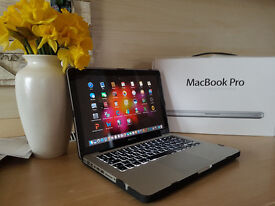 "Apple MacBook Pro 13"" Core i7 - 2.9 ghz - Mid 2012 - SSD + HD Boxed"