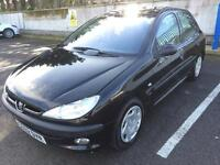 2002 PEUGEOT 206 1.4 SEPTEMBER MOT, DRIVES GREAT, READY TO DRIVE AWAY