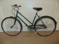 """Classic/Vintage/Retro Hercules Commuter 21"""" Town/City Bike"""