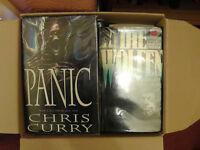 20 assorted Horror Books. 3 Hardback, 17 Paperback - see description for titles