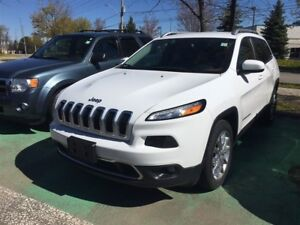 2015 Jeep Cherokee LIMITED,LEATHER,NAVIGATION