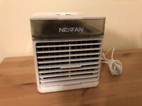 NEXFAN cooling fan desk/ bedside table size