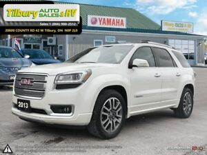 2013 GMC Acadia Denali. *Nav. Leather. DVD. Bluetooth*