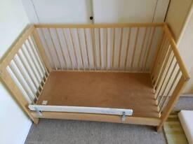 2 IKEA cots/cotbeds