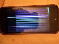 Faulty Apple iPhone 5s - 32GB - Space Grey (Unlocked) Smartphone
