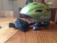 Carrera Airborne S Green Helmut Cycling, Skateboard and Roller Skates