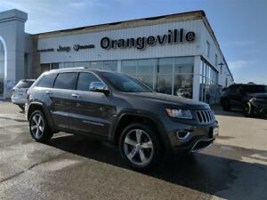 2016 Jeep Grand Cherokee LIMITED, 4X4, V6, ROOF, HEATED LEATHER,