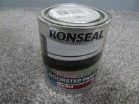RONSEAL DOORSTEP PAINT, Tile Red 750 ml.