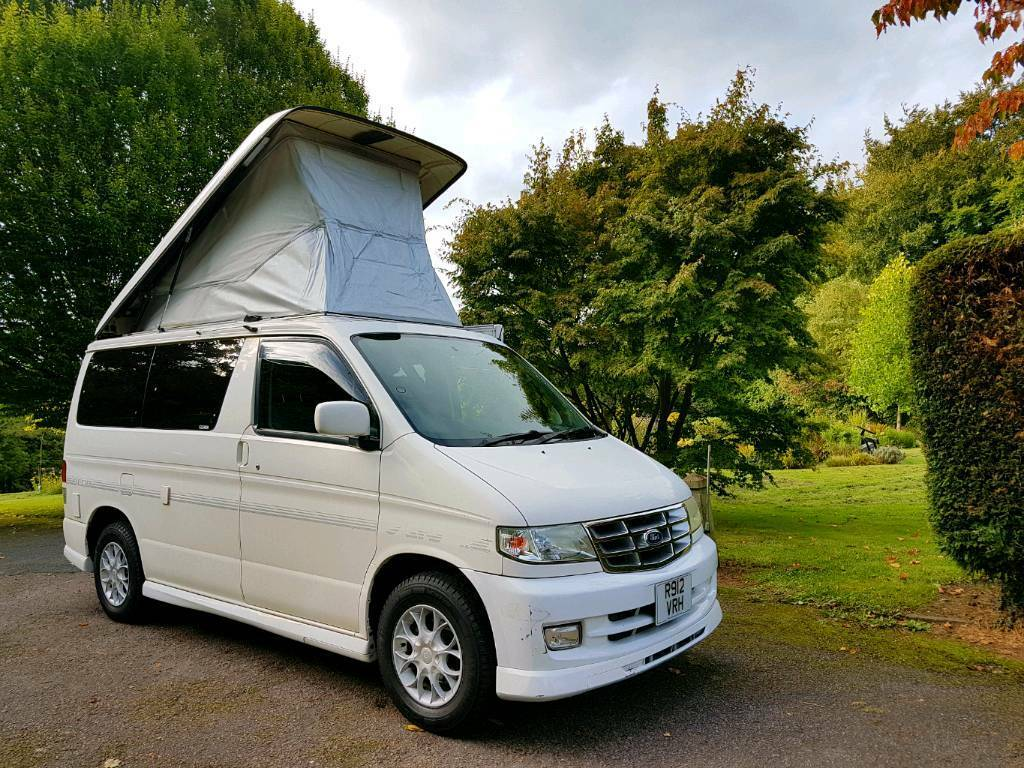 MAZDA BONGO/FORD FREDA AFT 4 BERTH CAMPERVAN! FULL SPACESHIP SIDE CONVERSION