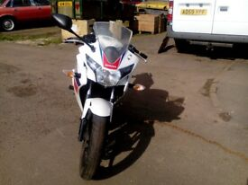 honda cbr 125 13 reg £1600 or may px for 50or125