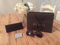 Genuine Brand New Gucci GG 3206/S Sunglasses Women's RRP £150 Brown/Tortoise