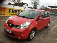 2009 NISSAN NOTE 1.5 DIESEL RED 1 OWNER FULL HISTORY SAT NAV HPI CLEAR