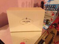 Genuine Classic Suede Prada Court Heels Size UK 8 Made In Italy