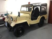 1981 Mitsubishi Willys Jeep 2.7 Diesel 4x4 Soft Top