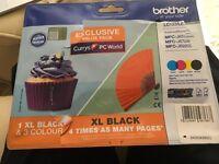 Brother Printer Value Pack Ink Cartridges