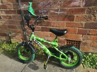 Raleigh kids bike 12 inch collection from Bournville