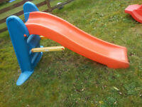 Kids Childs Slide, Sea Saw and BasketBall & Football - DELIVERY AVAILABLE