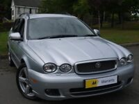 £0 DEPOSIT FINANCE**** Jaguar X-Type 2.2 D DPF Automatic Estate SE 5dr **MASSIVE SPEC** FSH*AA WARRA