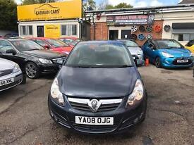 Vauxhall Corsa 1.2 petrol 3 door edge back
