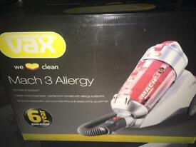 VAX VACUUM CLEANER !! Brand new! 6 YEARS GUARANTEE