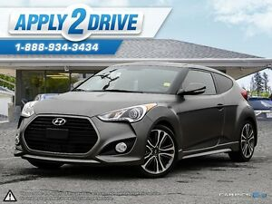 2016 Hyundai Veloster Turbo Loaded Panoramic Roof FAST......