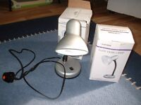 Modern Bedside or desk Lamp