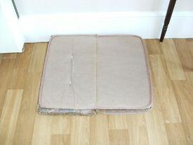 FOR SALE USED CARAVAN DINETTE SEAT CUSHION