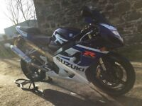 Suzuki GSXR 750 K5 2005 16k Excellent Condition + Extras