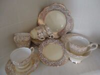 Royal Stafford Bone China Tea Service