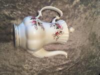 Lavender rose royal doultan coffee set